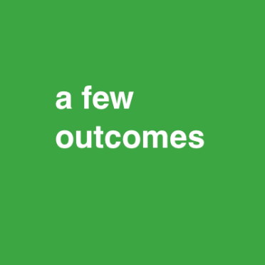 a few outcomes green font 48