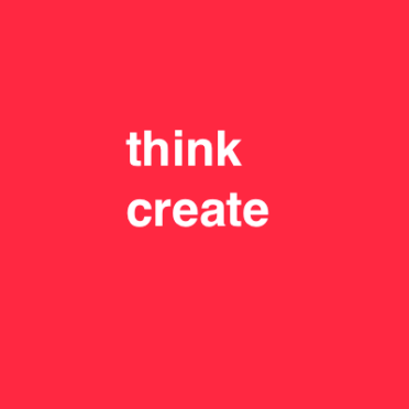 think create red 48 font