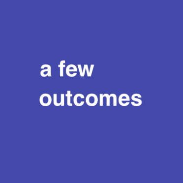 a few outcomes purple 48 font
