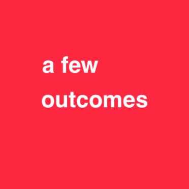 a few outcomes red 48 font