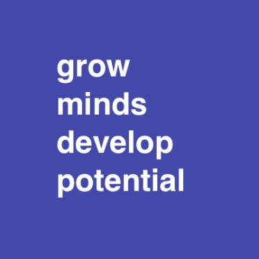 grow minds develop potential font 48