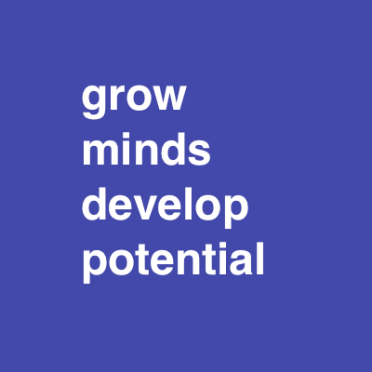 grow minds develop potential font 48