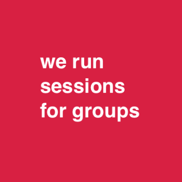we run sessions for groups cc0033 44